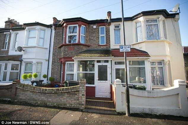 The home of Mohammad Tariq Mahmood, 41, in Walthamstow, North London.  Their address is in a known hotbed of extremism and intelligence was received about a Facebook page connected to the family address, containing extremist material sympathising with Al Qaeda