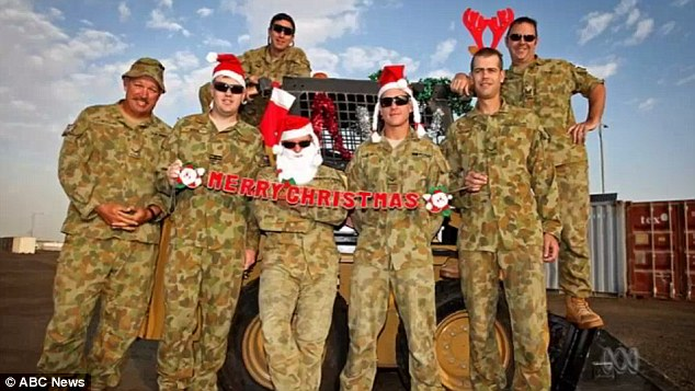 Merry Christmas Messages From Soldiers And Sailors Serving