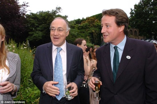 The warning comes as a former Tory leader Michael Howard warned the Conservative party that they could split apart unless David Cameron allows a free vote for ministers in the EU referendum