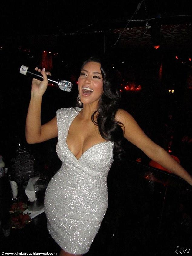 Kim Kardashian posts throwback New Years snaps with