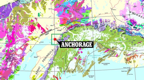 First digital geological map of Alaska exposes buried