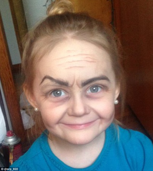 Ohio Girl Roey Becomes An Old Lady After She Asks Aunt To