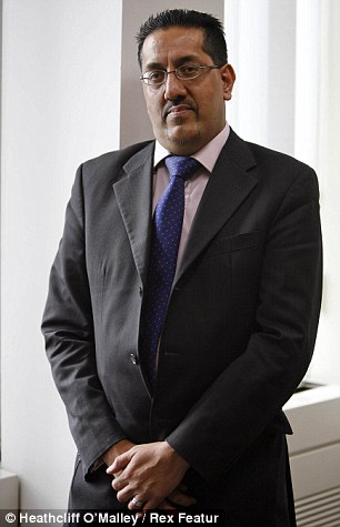 Warning: Lawyer Nazir Afzal is concerned that the influx of young, male migrants risks tipping the whole balance of European society