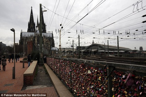Bad press: The attacks in Cologne, considered a 'progressive' and safe city, are bad news for Chancellor Angela Merkel who welcomed more than one million refugees fleeing war zones into the country