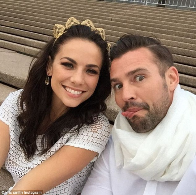 Kris Smith Hints At An Engagement To Model Girlfriend