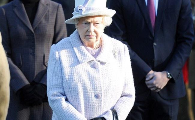 Kate Middleton As Sandringham As The Queen Marks End Of