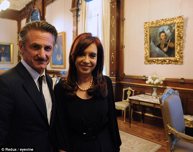 In 2012, he met with Argentina's then-president Cristina Kirchner and weighed in on tensions between the Latin American country and the United Kingdom since the Falklands War - branding Britain 'colonialist'