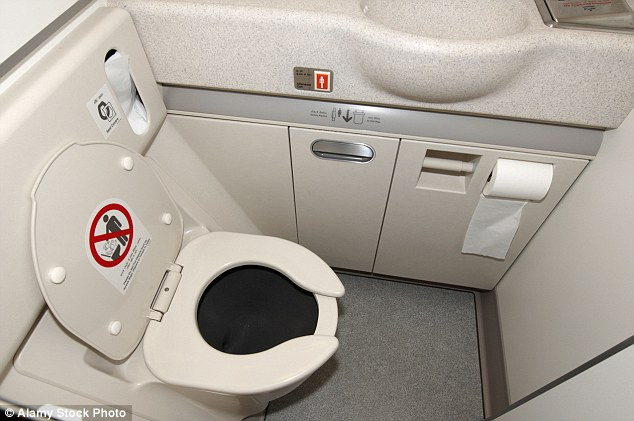 Another user wrote that there is a hidden latch on lavatory doors that can be opened even when it is locked
