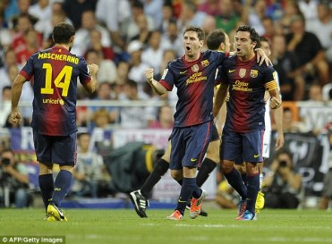 People thought Messi might struggle without Xavi but he has even filled in on some of the midfield duties