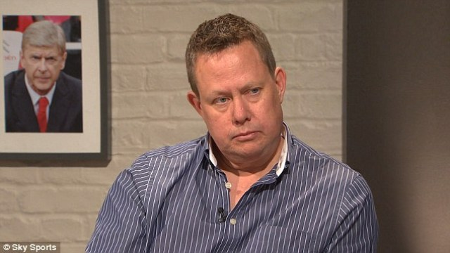 Reporter Neil Custis, who was the subject of the insult, appears on Sky's Sunday Supplement in April last year