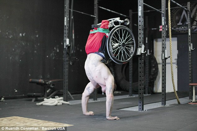 Fitness trainer Zack Ruhl with no legs offers to train