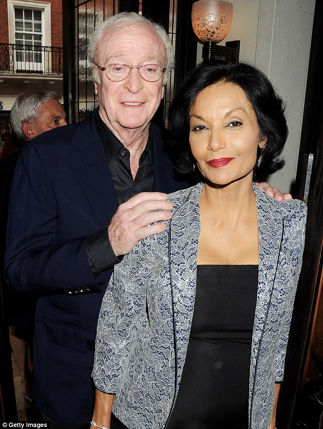 Still going strong: Sir Michael has been married to Guyanese actress Shakira Caine since 1973