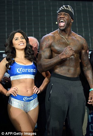 Deontay Wilder Faces Off With Artur Szpilka At Weigh In
