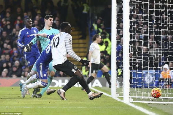 The former England defender scored an own goal at the back post with Everton striker Romelu Lukaku waiting behind him