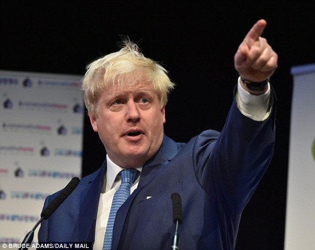 Leader: If Boris Johnson plucked up the courage to lead the 'Out' campaign, he could help steer it to victory – and replace David Cameron in No 10 by the summer