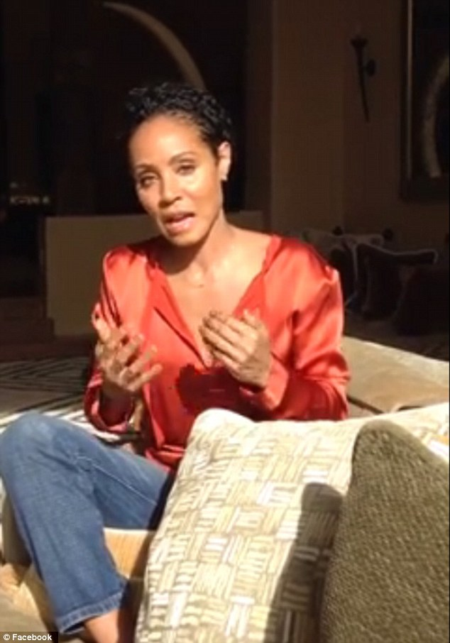 Boycott: Jada Pinkett has revealed she will not be attending the Oscars, or watching it on television, in response to the lack of nominations for people of color