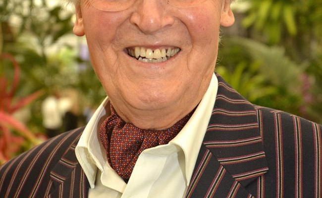 Nicholas Parsons 92 Is Barely Recognisable As He Cuts A