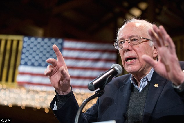 He's a taxman? A Washington Examiner analysis of Bernie Sanders economic agenda has found that Americans could see $19.6 trillion in new taxes over 10 years