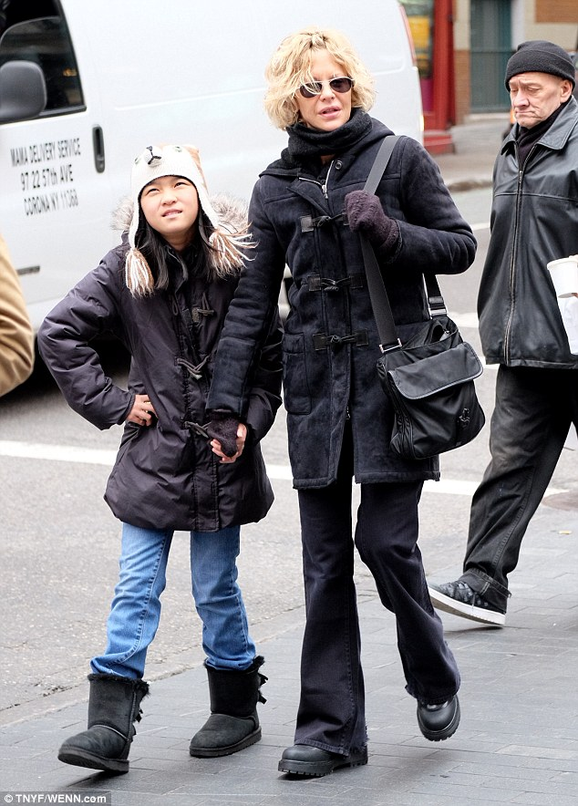 Meg Ryan Beams As She Enjoys Mother Son Stroll With Actor