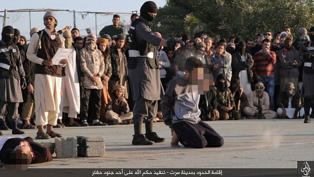 Image result for Khalifa Haftar executing 20 hooded men, photos