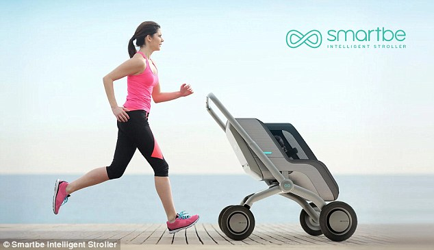 Would you trust your baby in a self driving stroller