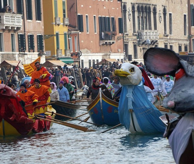 The Carnival Season Offers All Visitors To Venice To Partake In A Bit Of Fun