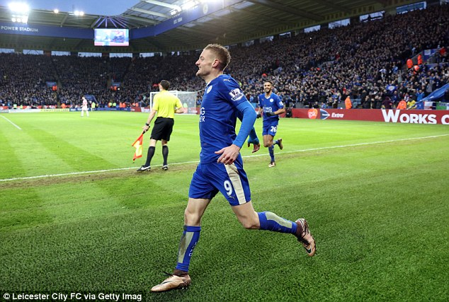 Vardy has been one of the success stories of this incredible Barclays Premier League season