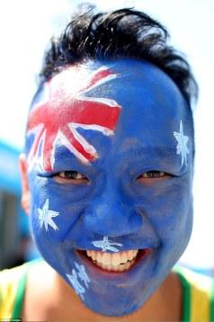 Australia Day Face Paint