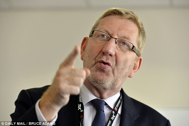 Unite, headed by Len McCluskey, has campaigned against zero-hours contracts but is  accused of using them