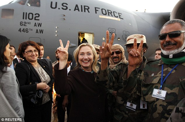 Image result for hillary clinton libya terrorists