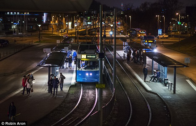 Dark: The Gothenburg suburb accepted more unaccompanied refugee children than anywhere else in the country – 4,041 added to a population of 63,000