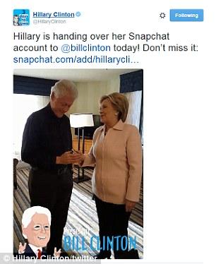 bill clinton shares fun