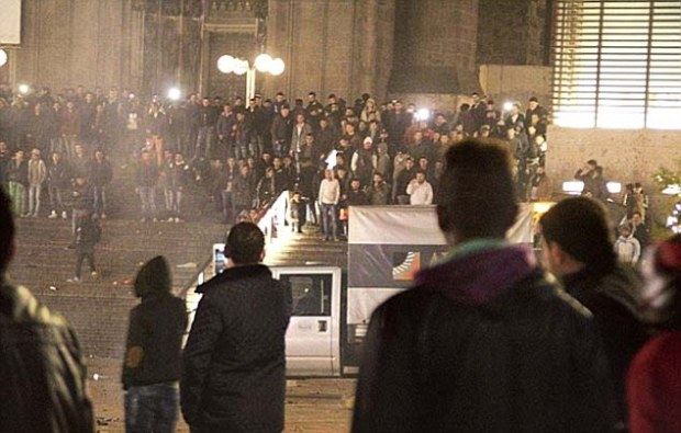 Attacks: It follows New Year riots in Cologne which were triggered by a number of sexual assaults made against local women by a group of up to a 1,000 men 'of Arab and North African origin'