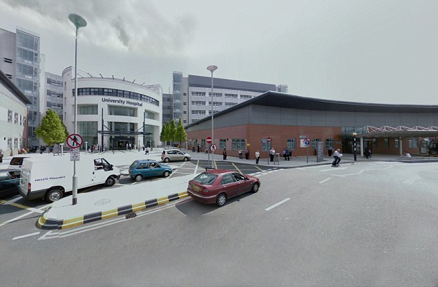 Payout: University Hospitals Coventry and Warwickshire Trust, pictured, agreed to pay Dr Mattu £1.2 million