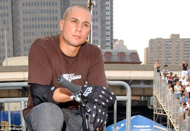 Tragedy: Dave Mirra was found dead in his truck of an apparent self-inflicted gunshot would on Thursday afternoon in Greenville, North Carolina