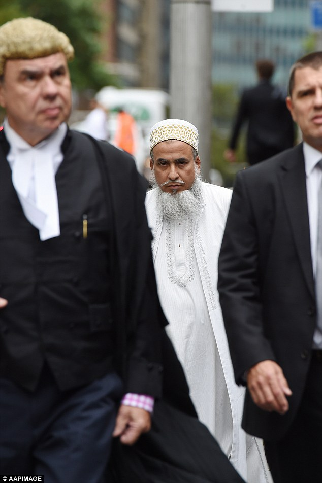 New South Wales Justice Peter Johnson (not pictured) said Shabbir (pictured middle) and two female co-offenders would not work to stop the practice of genital mutilation within their community