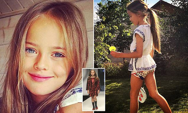 Controversial ten-year-old dubbed 'the most beautiful girl in the world' secures a