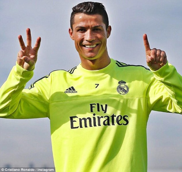 Real Madrid attacker Cristiano Ronaldo turned 31 on Friday - he took to Instagram to post to his fans