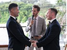 Meet the couple who prove gay marriage IS possible in Australia | Daily Mail Online