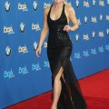 Her successful stroll down the red carpet while baring glimpses of leg