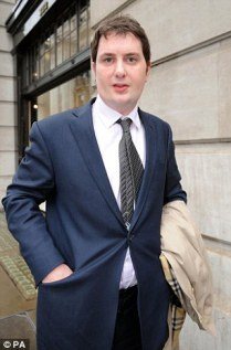 Adam Osborne (pictured), who was married at the time of the 'inappropriate' emotional and sexual relationship, embarked on the two year-affair with his patient, who he had been treating for depression, anxiety and chronic fatigue