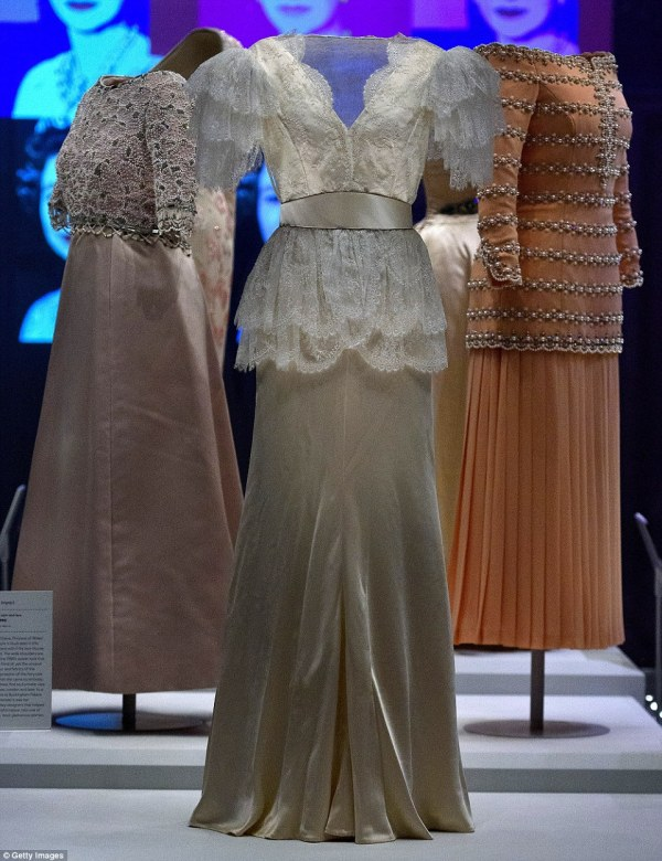 Princess Diana and The Queen39s dresses unveiled in