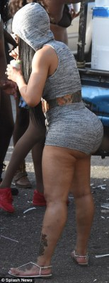 Amber Rose & Blac Chyna Put Their Massive Curves On Display At Trinidad Festival