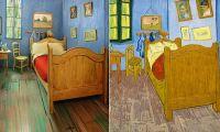 Room identical to Vincent Van Gogh's Bedroom in Arles is ...