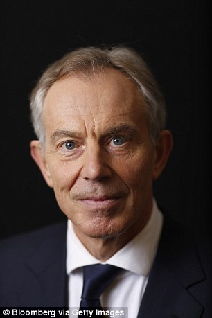 Given that Dave considers himself to be the Heir To Tony Blair (pictured), perhaps he sees his next career move as President of Europe