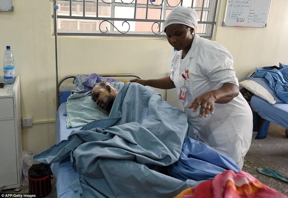 Ajudando os afetados requer mais longo prazo, a atenção especialista em uma região empobrecida que faltava básico de cuidados médicos, equipamentos e médicos mesmo antes de a insurgência