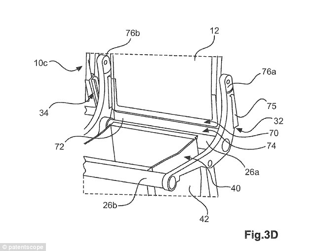 Airbus files patent for seat with luggage compartment