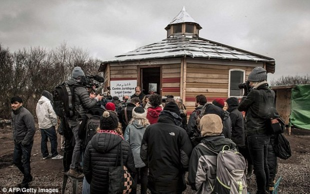 A press conference is held at the Jungle campsite today, which could yet be disbanded if French authorities are successful in moving out its inhabitants