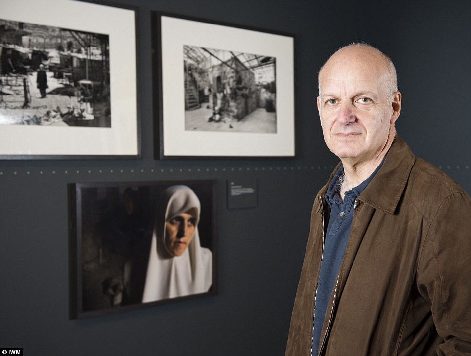 Stirring: Nick Danziger's striking images capture the heartache and helplessness of rape victims, widows, refugees and prisoners, all female and all living during war. Below are some of the project's most emotive photographs