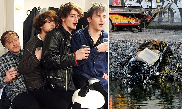 Viola Beach members killed when their car plunged off a bridge in Sweden